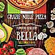 Original Pizza Flyer Template - GraphicRiver Item for Sale