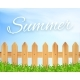 Wooden Fence and Grass - GraphicRiver Item for Sale