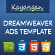 HTML5 Banner Dreamweaver Template v1 - CodeCanyon Item for Sale