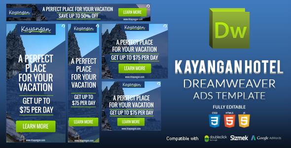 HTML5 Banner Dreamweaver Template v1 Download