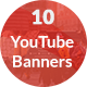 Premium 10 Youtube Banners - GraphicRiver Item for Sale