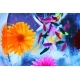 Multicolored Flowers Frozen Into The Ice Box - GraphicRiver Item for Sale