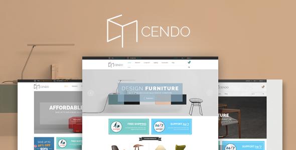 Cendo - Furniture Shopify Theme