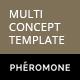 Pheromone - Responsive Multi-Concept Template - ThemeForest Item for Sale