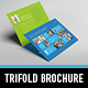 Metro Tri-fold Horizontal Brochure - GraphicRiver Item for Sale