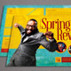 Spring Revival Church Flyer Template - GraphicRiver Item for Sale