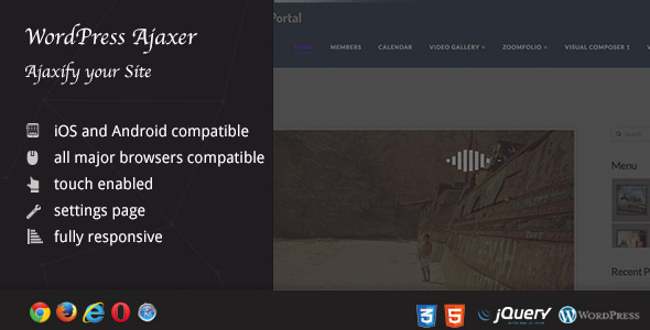 Ajaxer - Ajaxify Your WordPress Site and Comments