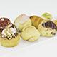 Pastries 3D Model - 3DOcean Item for Sale
