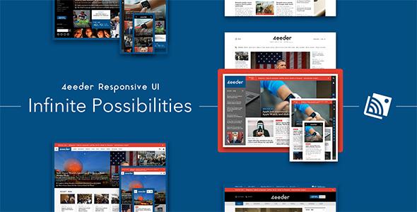 4eeder – A Responsive Web UI Kit