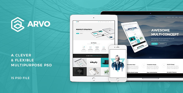 Arvo - A Clever & Flexible Multipurpose PSD