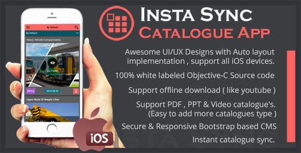Insta Sync Catalogue Utility App using CouchDB
