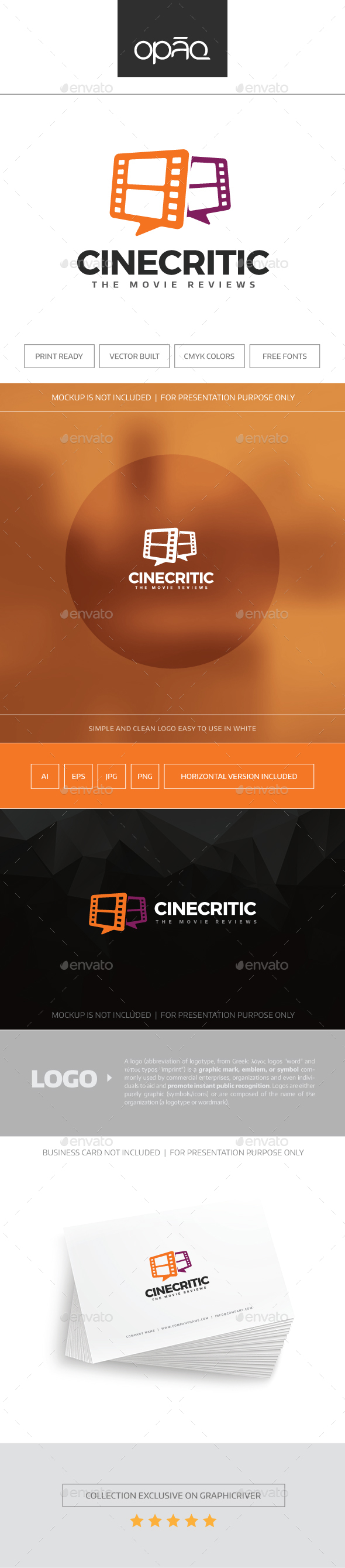 CineCritic Logo