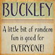 Buckley - GraphicRiver Item for Sale