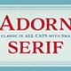 Adorn Serif - GraphicRiver Item for Sale