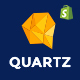 Quartz - A Genuinely Multi-Concept Shopify Theme - ThemeForest Item for Sale