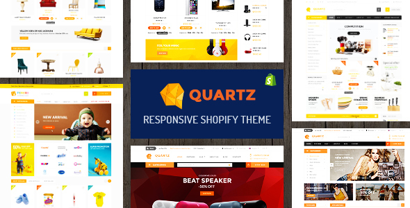 Quartz - A Genuinely Multi-Concept Shopify Theme