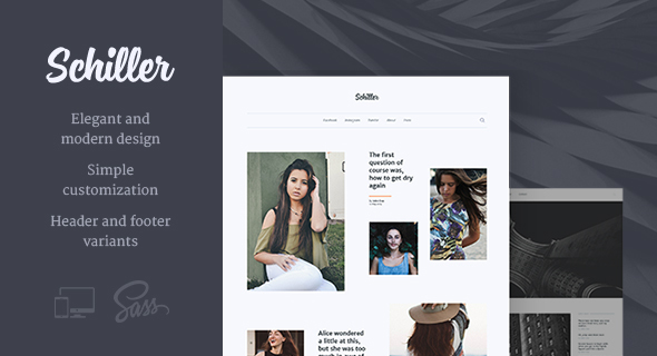 Schiller – Personal Blog Theme