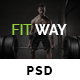 FITWAY - Gym & Fitness Psd Template - ThemeForest Item for Sale