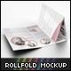 Roll Fold Brochure Mockup V2  - GraphicRiver Item for Sale