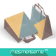 Paper Bags 2 Mock-up - GraphicRiver Item for Sale