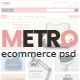 METRO-eCommerce PSD Template - ThemeForest Item for Sale