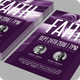 Taking First Step of Faith Flyer Template - GraphicRiver Item for Sale