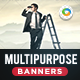 HTML5 Multi Purpose Banners - GWD - 7 Sizes(NF106)