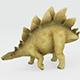 Schleich Toy Stegosaurus - 3DOcean Item for Sale
