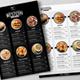 Simple Black & White Restaurant Menu - GraphicRiver Item for Sale