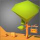 Single Cartoon Tree - 3DOcean Item for Sale