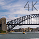 Sydney Harbour Bridge Traffic 4 - VideoHive Item for Sale