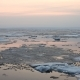 Evening Ice Drift On The River - VideoHive Item for Sale