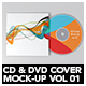 CD & DVD Cover Mock-Up vol 01 - GraphicRiver Item for Sale