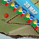 3D Google Map Mock up - GraphicRiver Item for Sale