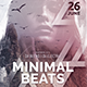 Minimal Beats Party Flyer - GraphicRiver Item for Sale