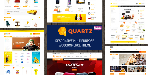 Quartz - Responsive Multipurpose WooCommerce Theme