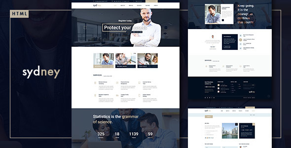 Sydney - Multiuse Financial Business HTML5 & CSS3 Template