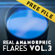 Real Anamorphic Flares vol.3 - VideoHive Item for Sale