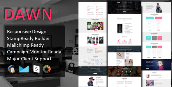 DAWN - Multipurpose Responsive Email Template