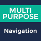 Multipurpose Navigation Menu Bar PSD - GraphicRiver Item for Sale