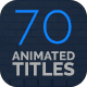 70 Minimal Titles - VideoHive Item for Sale