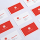 Realistic Business Card Mockups Bundle  - GraphicRiver Item for Sale