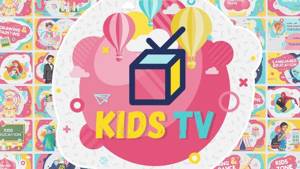 Kids Tv - Broadcast / Social Channel Design