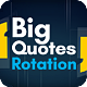 Big Quotes Rotation - VideoHive Item for Sale