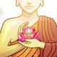 Buddha in Tranquil Zen Garden - GraphicRiver Item for Sale