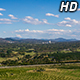 Clouds over Small Country City - VideoHive Item for Sale