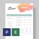Creative Invoice Template - GraphicRiver Item for Sale
