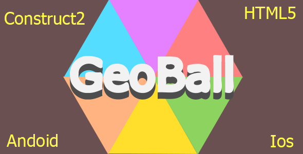 Geo Ball - HTML5 Mobile Game