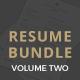 Professional Resume Bundle  - GraphicRiver Item for Sale