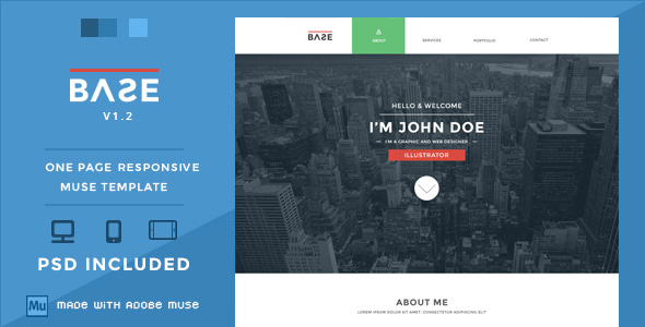 Responsive Adobe Muse Themes & Muse Templates from ThemeForest